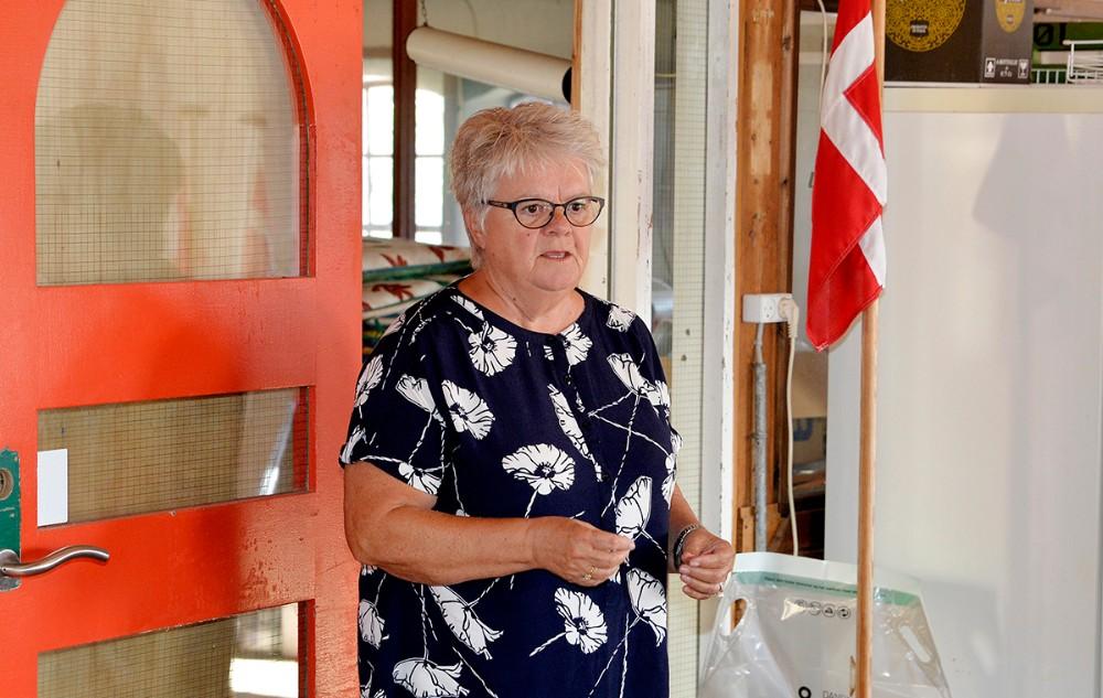 Hanne Olesen (A) er imod opførelsen af et biogasanlæg. Foto: Jens Nielsen