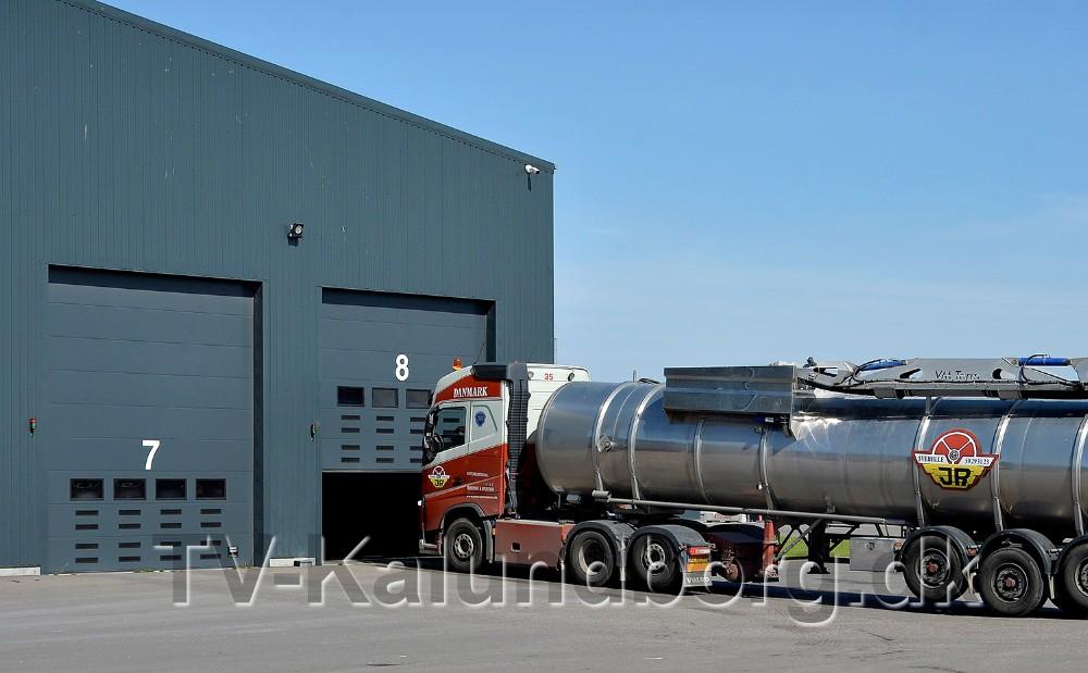Kalundborg Bioenergi modtager omkring 780 tons om dagen hver dag i ugen. Foto: Jens Nielsen.