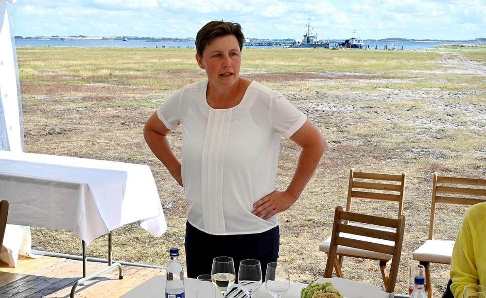 Vinbonde Betina Newberry, Dyrehøj Vingård. Foto: Jens Nielsen