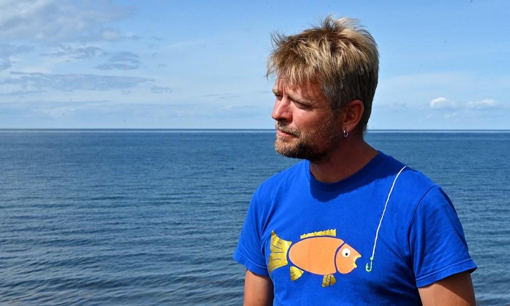 Fiskemester Anders Lejbach. Foto: Jens Nielsen