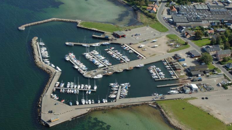Havnsø Havn.