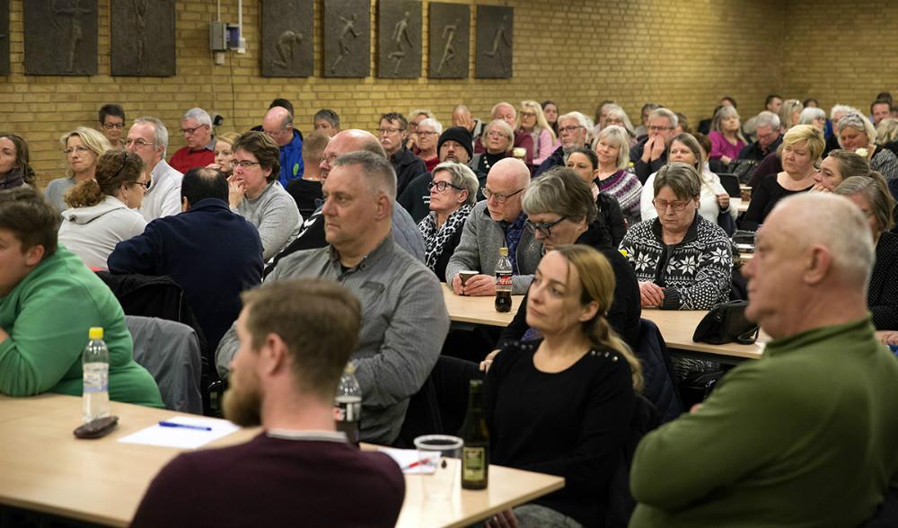 Der var i går stormøde hos Bedre Psykiatri Kalundborg. Arkivfoto: Jens Nielsen.