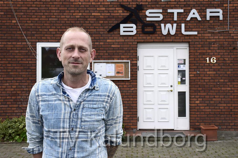 Klaus Pedersen er den nye forpagter af Starbowl i Kalundborg. Foto: Gitte Korsgaard.