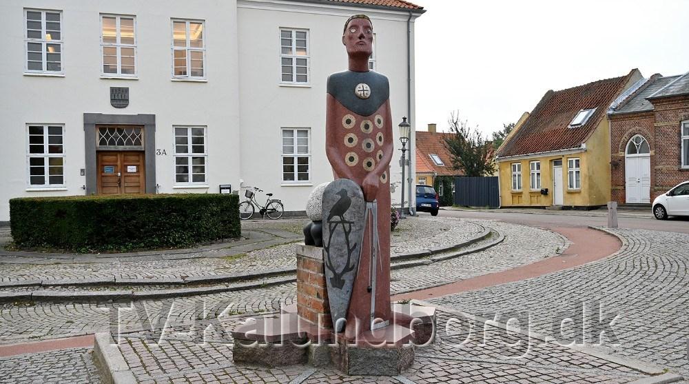 Esbern Snare stirer ind i fremtidenmen altså nu kun med et øje. Foto: Jens Nielsen