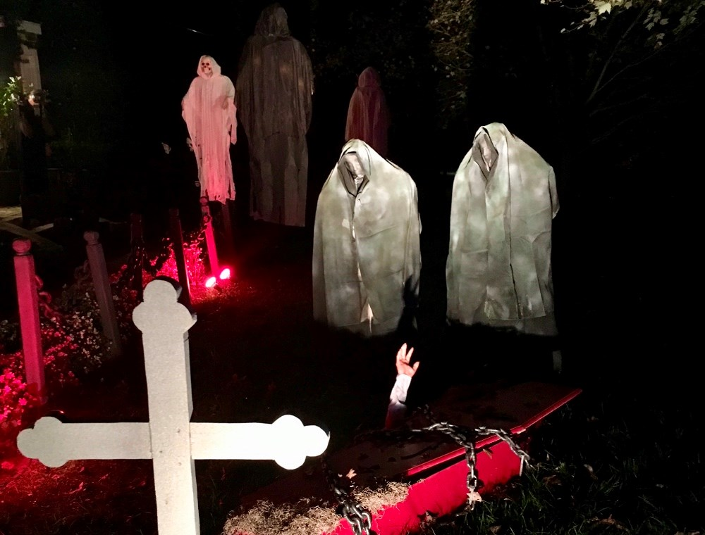 Halloween i USA. Privatfoto.