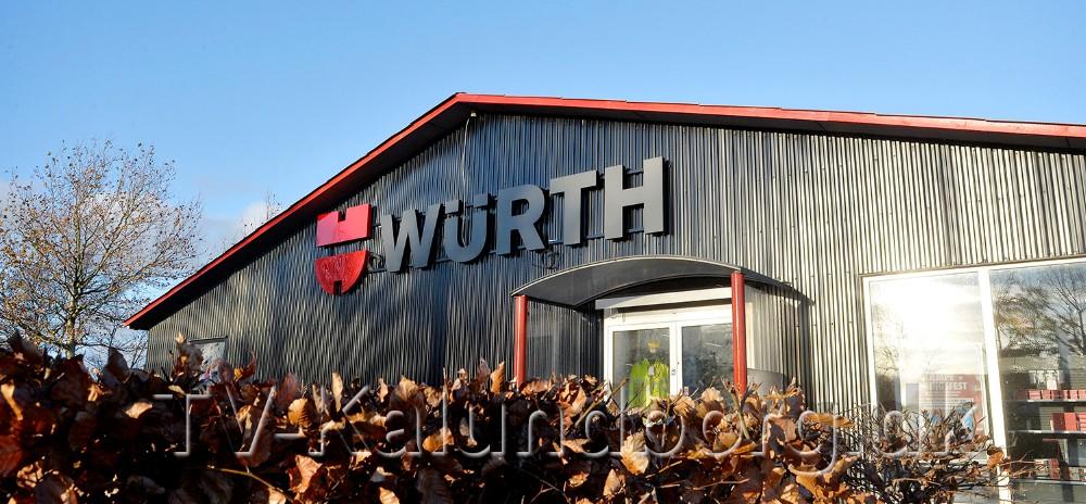 Würth er klar til at slå dørene op til deres nye butik i Kalundborg. Foto: Jens Nielsen