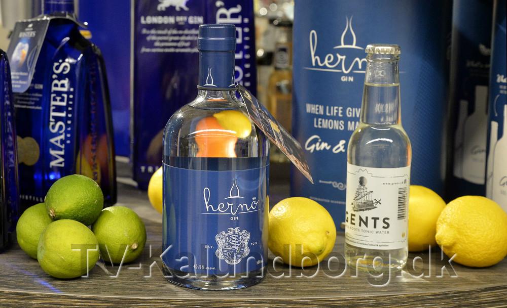 Hernø er kåret som verdens bedste Gin. Foto: Jens Nielsen