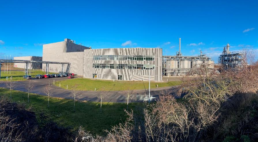 RE Energy fabriksanlæg i Kalundborg. Foto: RE Energy