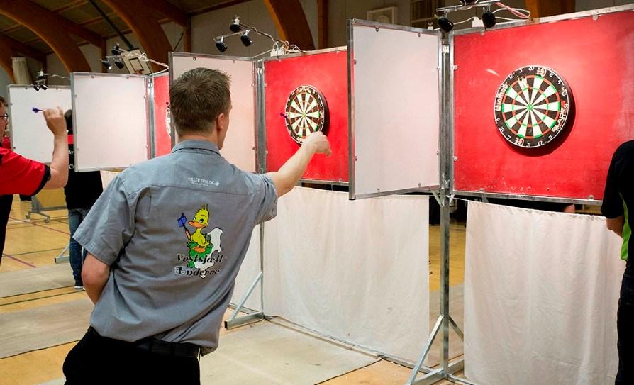 DM i dart afviklesi Svebøllehallen den kommende weekend. Arkivfoto: Jens Nielsen