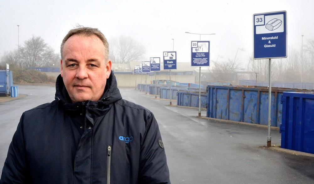 Sektionsleder Jakob Neve fra det fælleskommunale affaldsselskab Argo. Foto: Jens Nielsen
