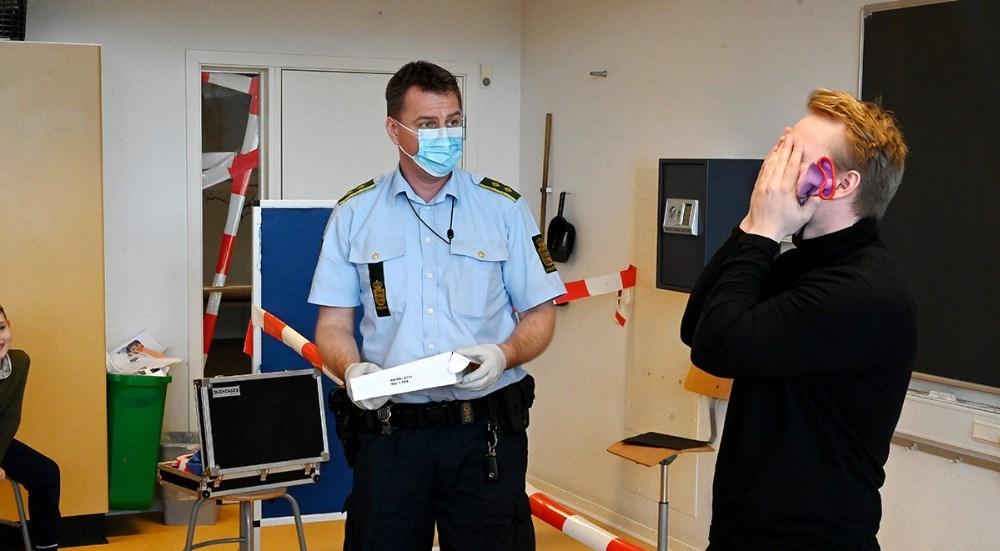 Klasselærer Casper Lejgaard måtte bryde sammen og indrømme tyveriet. Foto: Jens Nielsen