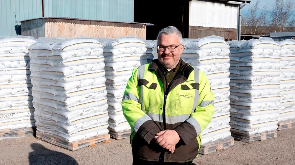 Klaus Mourits Erck Nielsen, indehaver af Kalundborg Handel og Energi. Foto: Jens Nielsen