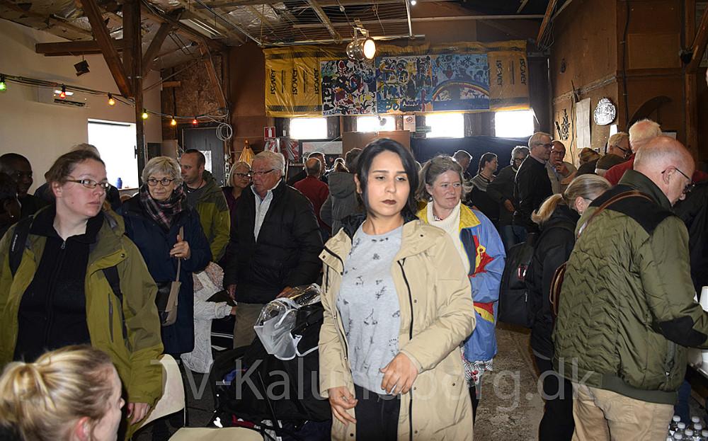 Velkomsttur for tilflyttere til kommunen i dag i Havnsø. Foto. Gitte Korsgaard.