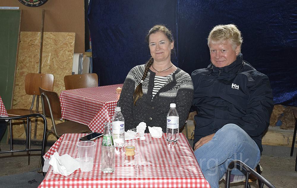 Susanne og Benny var med på velkomstturen for kommunen i dag. Foto: Gitte Korsgaard.