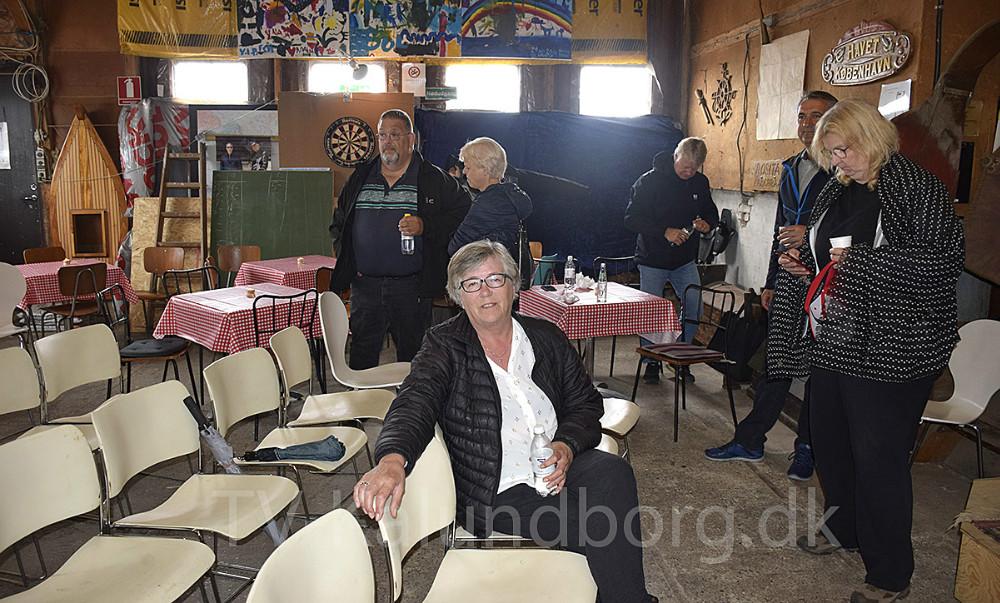 Susanne Markdal var med på velkomstturen for kommunen i dag. Foto: Gitte Korsgaard.