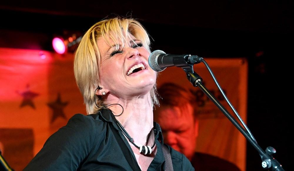Michelle Birkballe, utrolig meget stemme i en lille krop. Foto: Jens Nielsen