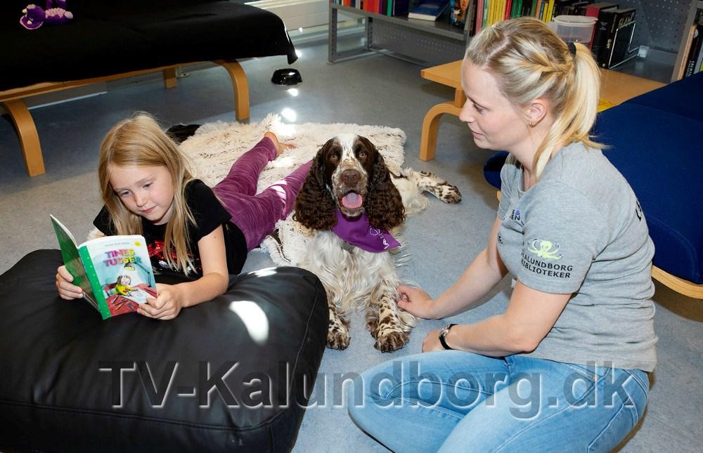 Louise og Schnuden sammen med 8-årige Luna. Foto: Jens Nielsen