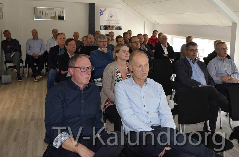 Møde hos Kalundborgegnens Erhvervsråd om erhvervsudvikling og infrastruktur. Foto: Gitte Korsgaard.
