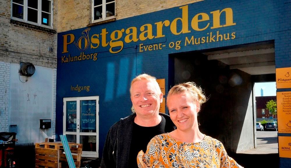 Trine og Morten Nystrup, Postgaarden. Arkivfoto: Jens Nielsen