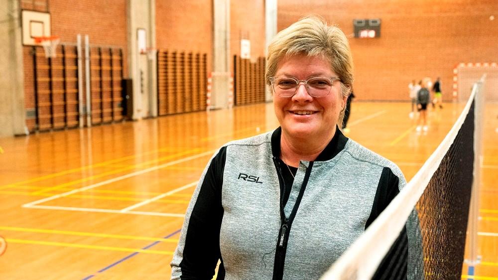 Klubbens nuværende formand Gitte Brændemose. Foto: Jens Nielsen