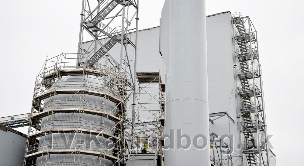 Asnæsværkets nye blok 6 er nu næste færdig. Foto: Jens Nielsen