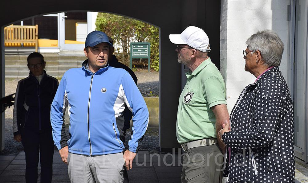 I dag afholdte Kalundborg Golfklub Golfens dag, hvor Kalundborg Diabetesforening var inviteret for netop at gøre opmærksom på, at motion (også) er vigtigt, når man har diabetes, og at golf fx er en glimrende mulighed for motion og socialt samvær samtidig. Foto: Gitte Korsgaard.