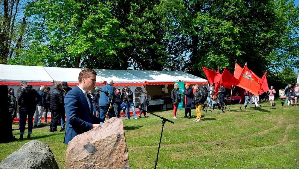 Rasmus Horn Langhoff, MF, Socialdemokratiet, er blandt talerne tilvirtuelt 1. maj-møde. Arkivfoto: Jens Nielsen