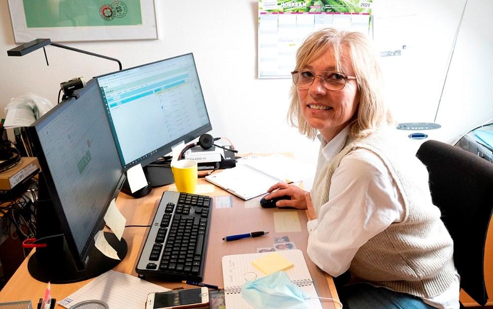 Jane Dahlin, gruppeleder ved Den integrerede Pleje, område Syd. Foto: Jens Nielsen
