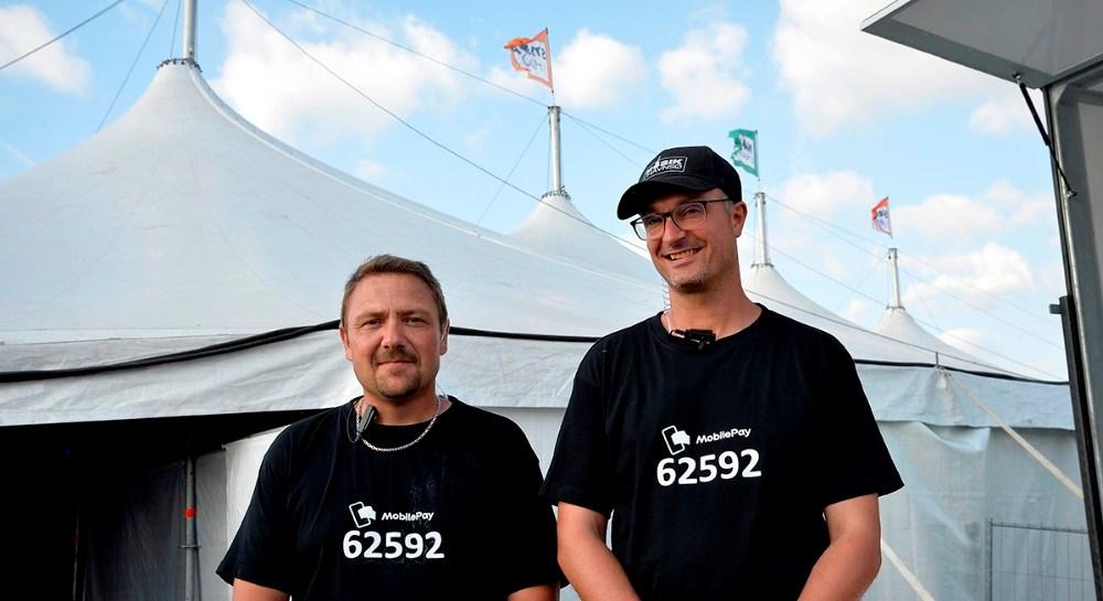 Fra venstre, Jesper Hansen og Kristian Kallenbach. Foto: Jens Nielsen