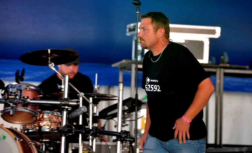 Jesper Hansen har ansvaret for scenen. Foto: Jens Nielsen