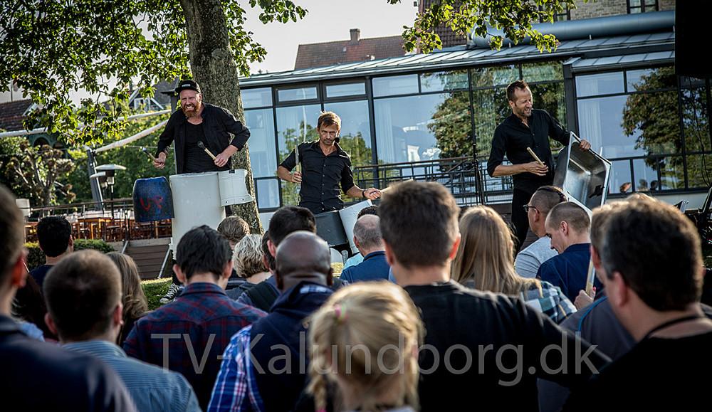 Der bliver'larm' igaden, når Stomp Up Front indtager Kalundborg til BEVÆG den 7. september.