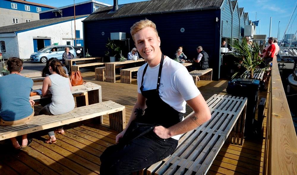Asger Øgelund er snart klar med endnu et tiltag på havnen i Kalundborg. Arkivfoto: Jens Nielsen
