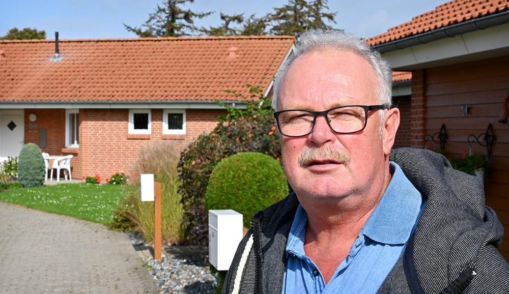 Jens Philip Jensen har i 25 år været forretningsfører for Gørlev Boligselskab. Foto: Jens Nielsen