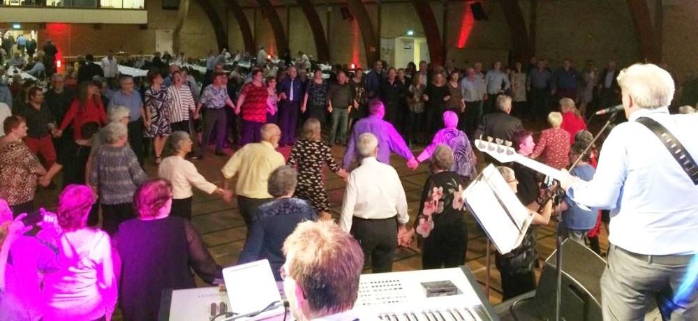 Billede fra dansktop festen i Tømmeruphallen tidligere på året. Privatfoto