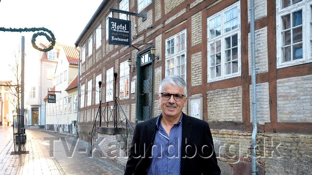 Ole Larsen, Kalundborger ny ejer af Hotel Ole Lunds Gaard. Foto: Jens Nielsen