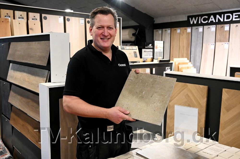 Garant har et godt tilbud på 30x30 cm. fliser. Foto: Jens Nielsen