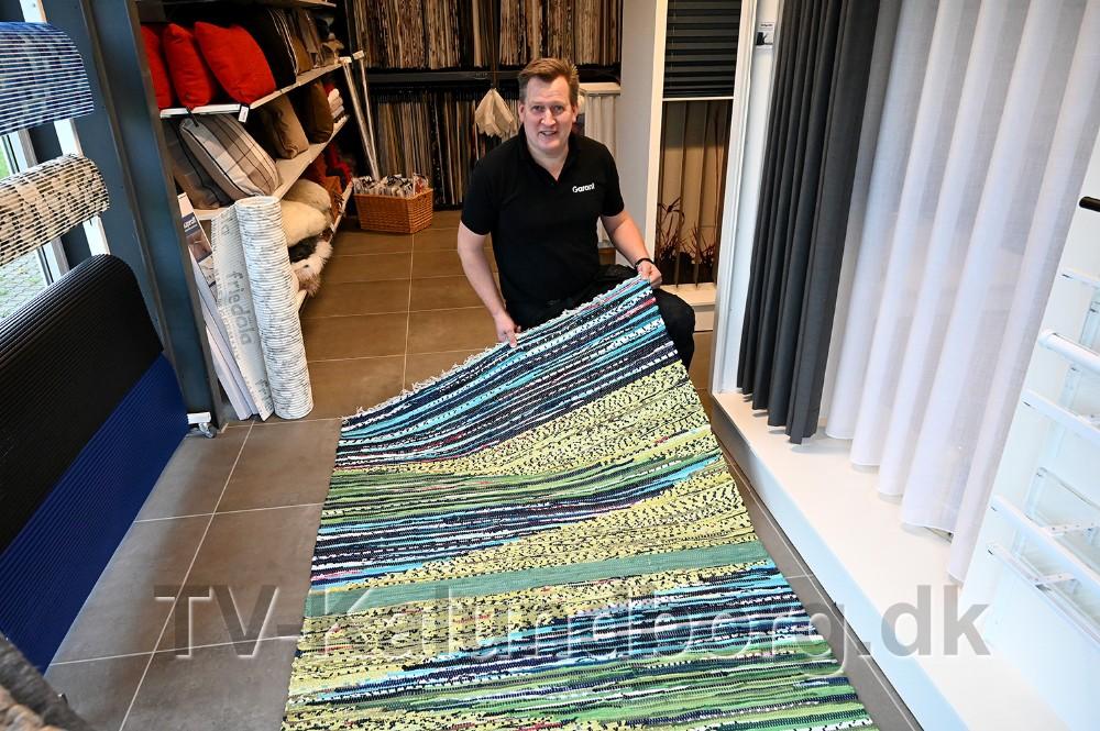 Der er mulighed for at købe et kludetæppe til Black Friday hos Garant. Foto: Jens Nielsen