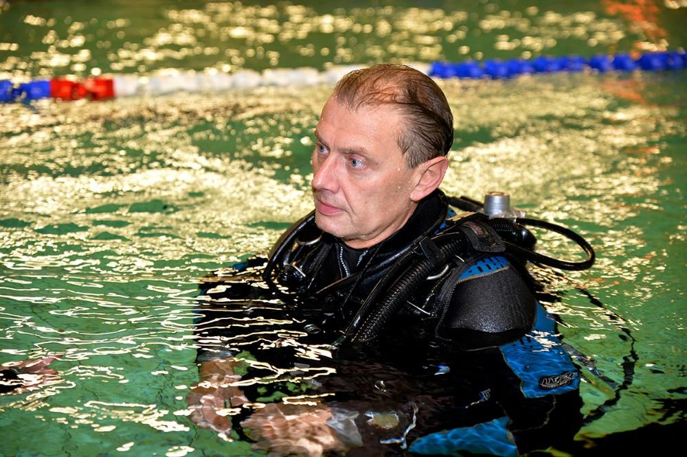 Dykkerinstryktør Allan Jensen. Arkivfoto: Jens Nielsen