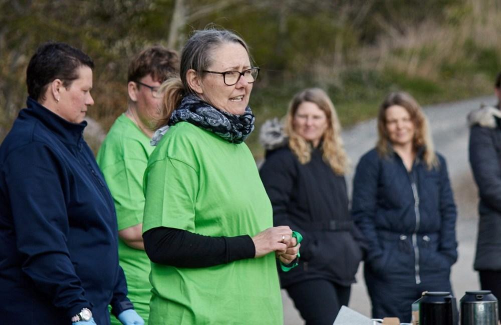 Formand for Kalundborg Hockey Klub Bettina Eriksen. Foto: Lucas Anderson