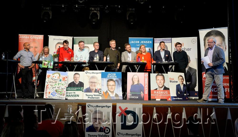Normeringer i daginstitutionerne til debat tirsdag aften på Postgaarden. Foto: Jens Nielsen