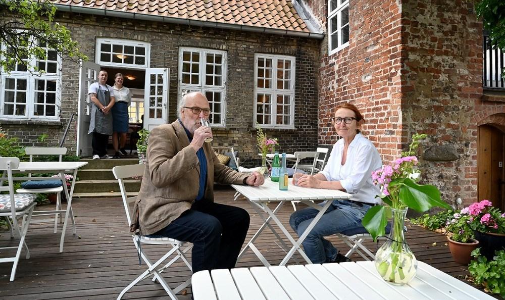 Byens flotteste gårdhave. Foto: Jens Nielsen