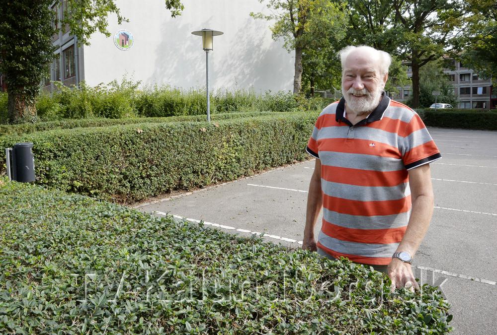 Richard Poulsen har de sidste 41 år været formand for KAB. Foto: Jens Nielsen