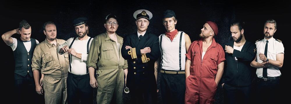 Sømændene er hovednavnet når Fuglede IF inviterer til julefrokost i Hvidebækhallen. Foto: Jens Nielsen