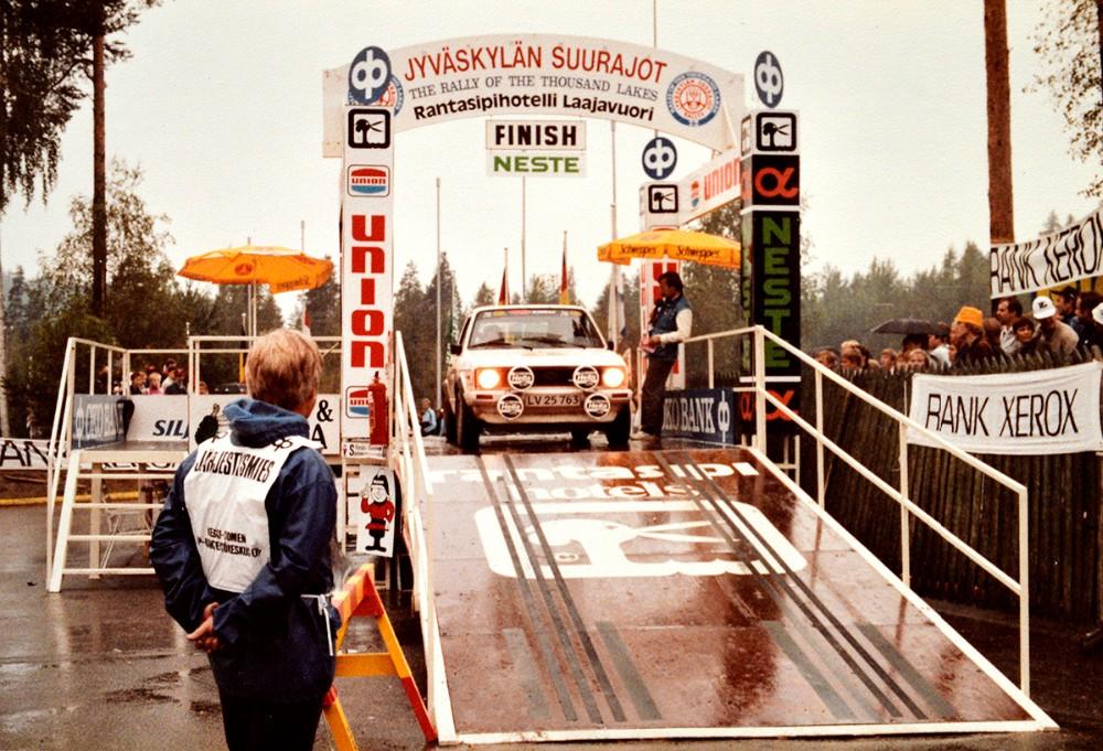 Største oplevelse er en klassesejr i et VM rally i Finland tilbage i 1987