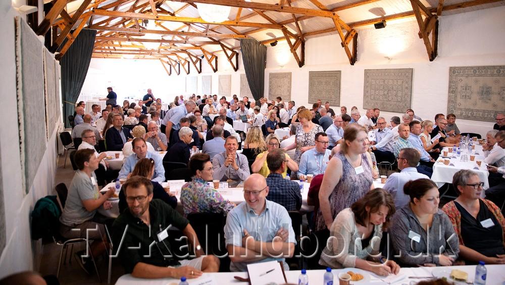 162 erhvervsfolk fra de tre kommuner mødte op. Foto: Jens Nielsen