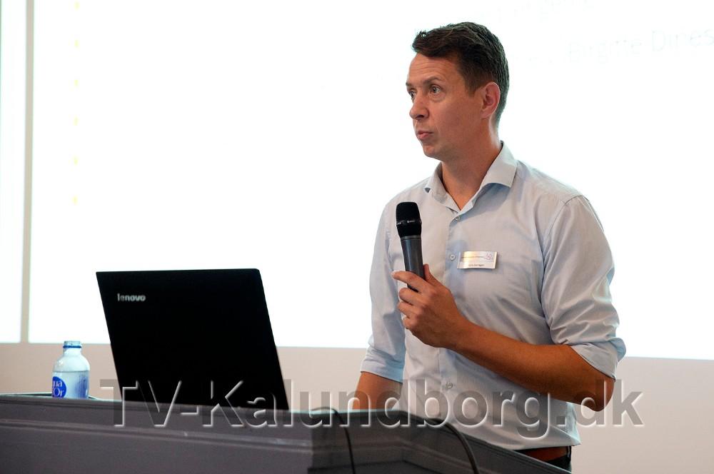 Jens Lerager, Kalundborgegnens Erhvervsråd. Foto: Jens Nielsen