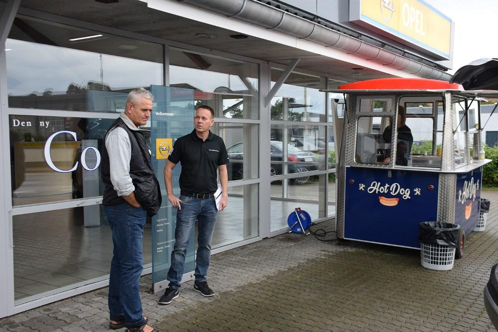 Åbent Hus hos Opel i Kalundborg Lørdag. Foto: Gitte Korsgaard.