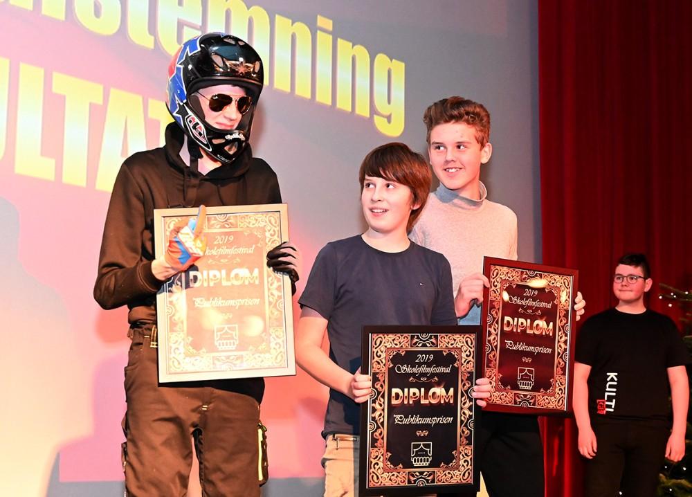 Filmen om scooterbøllen vandt publikumsafstemningen. Foto: Jens Nielsen
