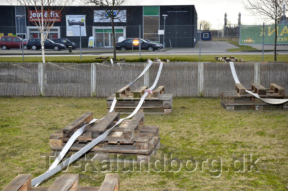 Containerne skal være tilsluttet et sprinkleranlæg med mindst 15 meter brandslange. Foto: Jens Nielsen