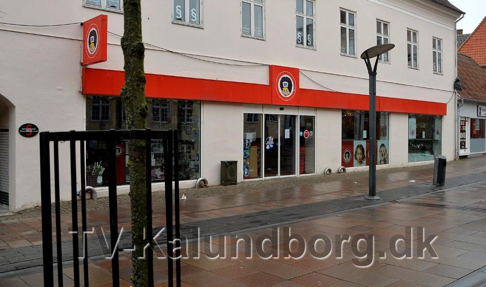 Fætter BR i Kordilgade er lukket efter at selskabet fredag er gået konkurs. Foto: Jens Nielsen